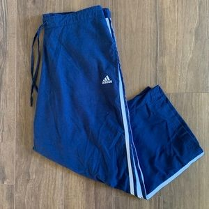 Adidas Windbreaker Track/Warmup Capri Crop Pants